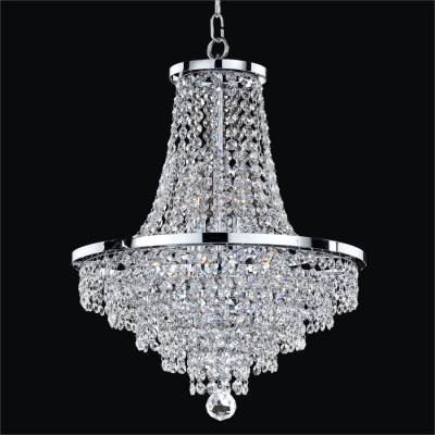 Crystal Strand Chandeliers | Vista 628