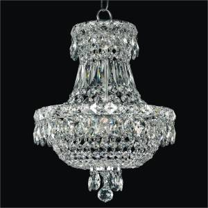 Small Empire Chandelier | Windsor Royale 551 by GLOW Lighting