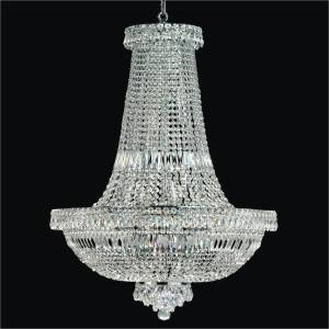 French Empire Chandelier | Windsor Royale 551 by GLOW Lighting