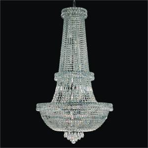 Large Empire Chandelier | Windsor Royale 551 by GLOW Lighting