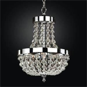 Mini Beaded Chandelier | Arcadia 612 by GLOW Lighting