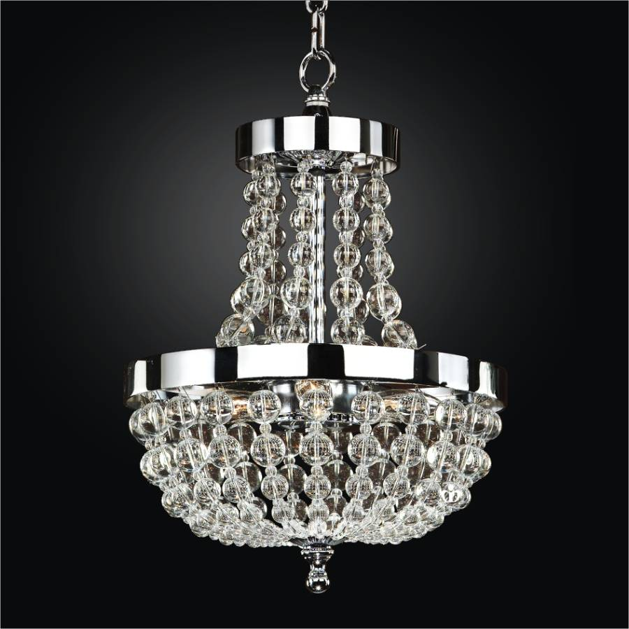 Mini Beaded Chandelier Arcadia 612 Glow 174 Lighting
