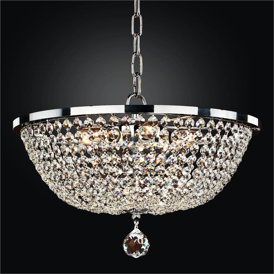 Crystal Empire Chandeliers | Synergy 630 by GLOW Lighting