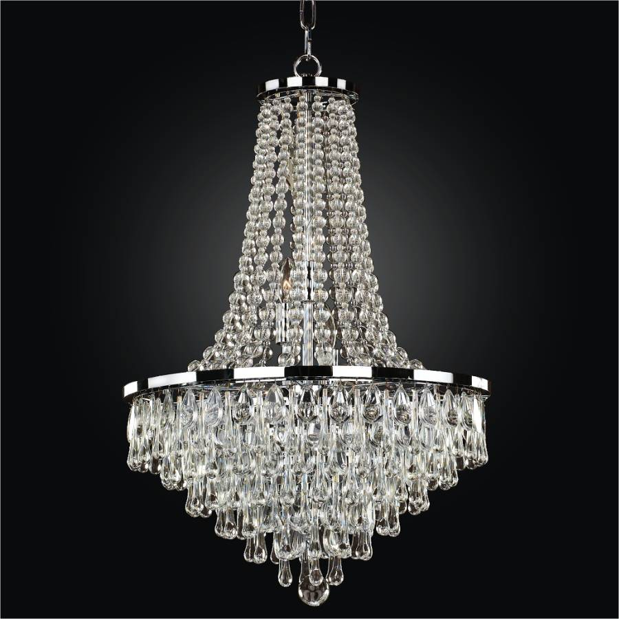 Beaded Crystal Chandelier | Summer Rain 638 by Glow® Lighting.