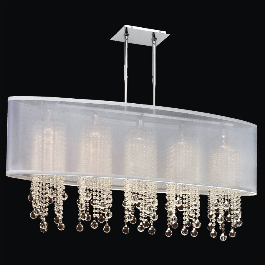 Crystal Beaded Chandelier | Soho 626B by GlOW Lighting