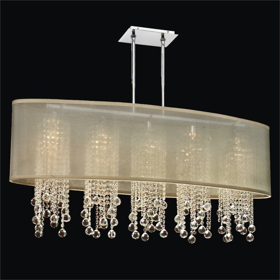 Crystal Ball Pendant Chandelier | Soho 626FM45SP-T-7C