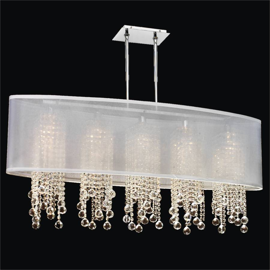 Crystal Ball Pendant Chandelier | Soho 626F by GlOW Lighting