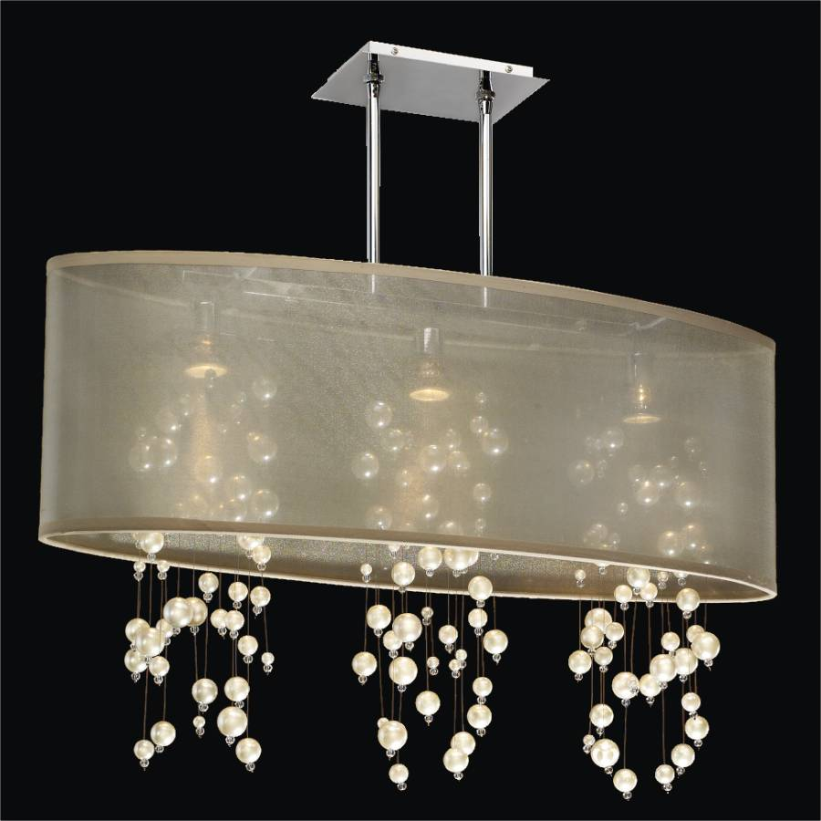 Beaded Pendant Chandelier | Soho 626N by GlOW Lighting