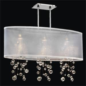 Bubble Chandelier | Soho 626R by GLOW Lighting