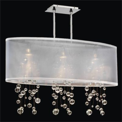 Bubble Chandelier – Oval Shade Chandelier  | Soho 626R