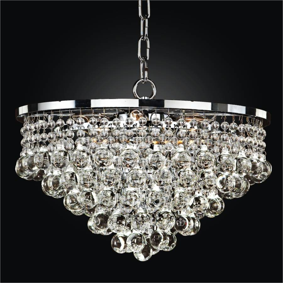 Beaded Chandelier Pendant Light | Summerhill 643 by GLOW® Lighting.
