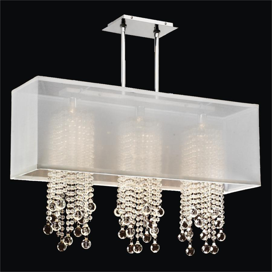 Glass Bead Chandelier | Omni 627B by GLOW® Lighting