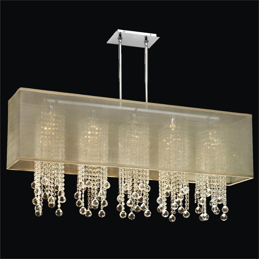 Crystal Pendant Chandelier | Omni 627F by GLOW® Lighting