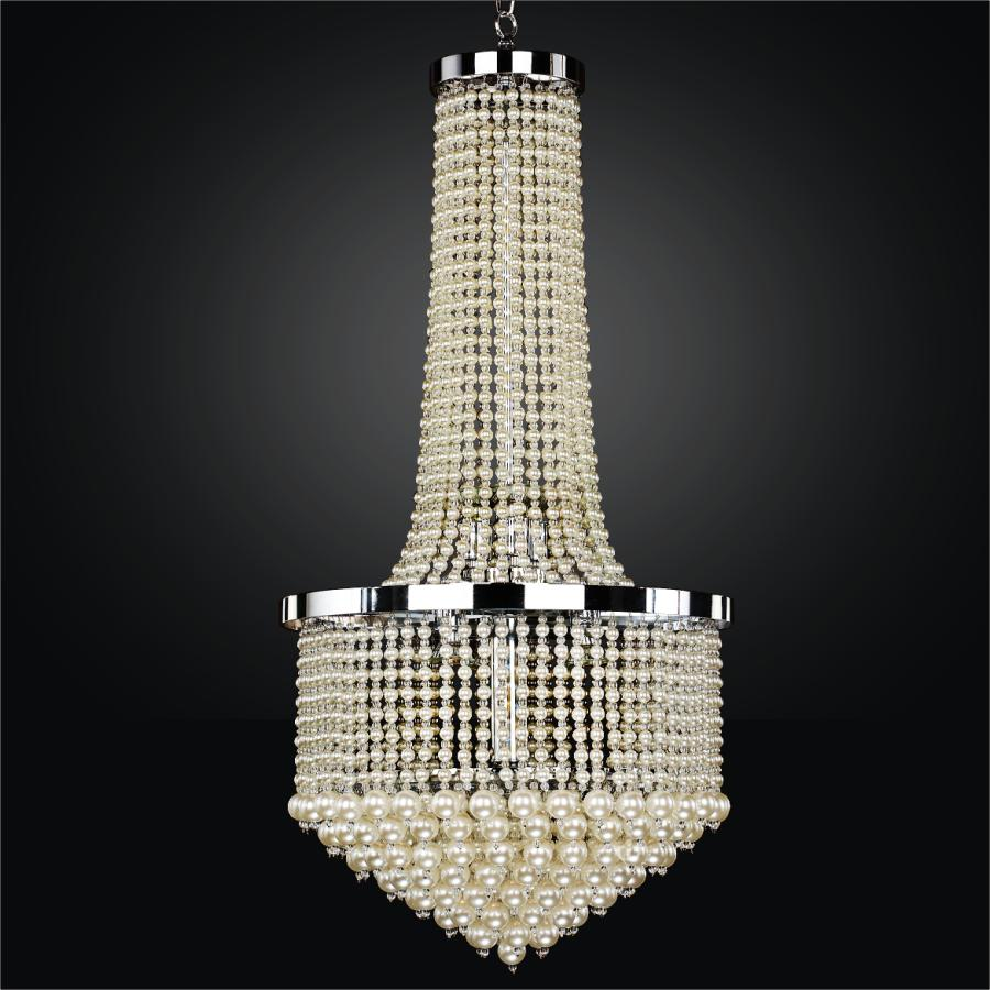 Large Beaded Chandelier | Vintages 641 by GLOW® Lighting