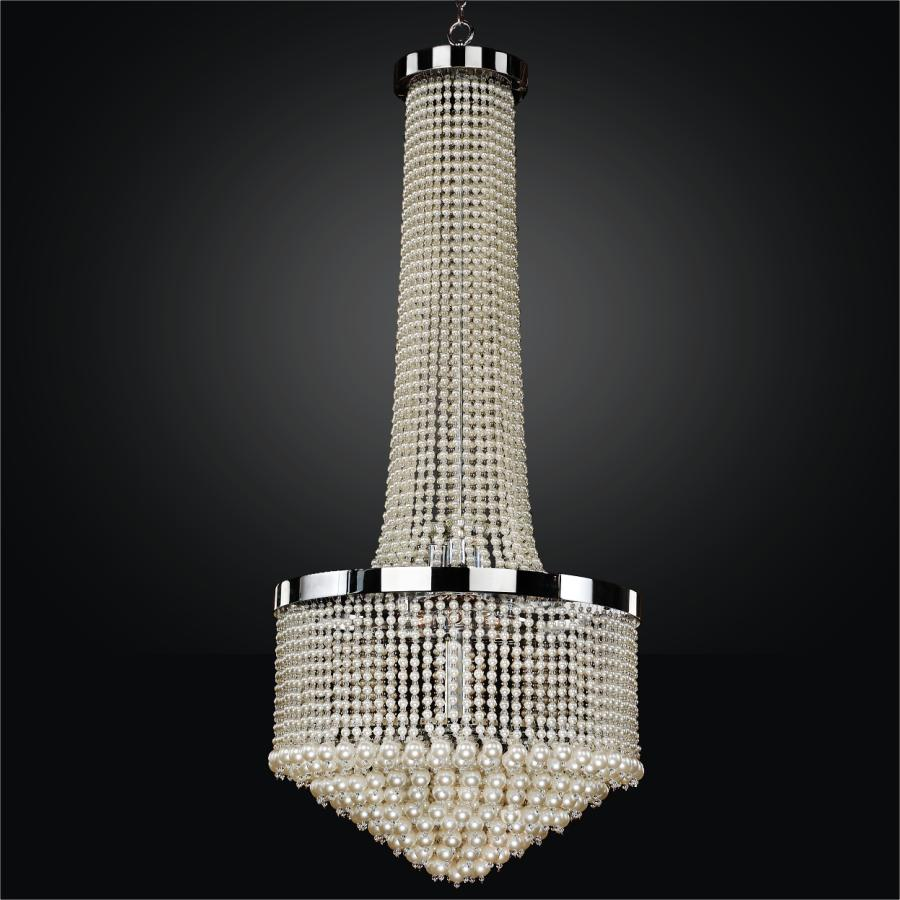 Large Beaded Chandelier | Vintages 641NF23-56SP-7