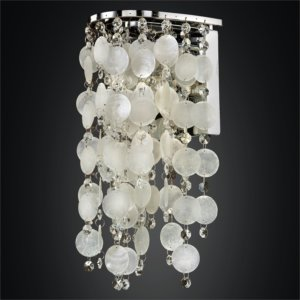 Capiz Wall Sconce | Ensconced 611 by GLOW Lighting
