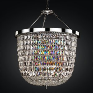 Large Lantern Chandelier | Lucia 607 by GLOW® Lighting