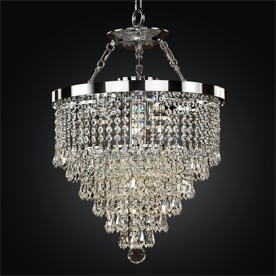 Hanging crystal chandelier spellbound 605 hanging crystal chandelier spellbound 605 by glow lighting mozeypictures Image collections