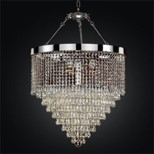 Hanging Crystal Chandelier | Spellbound 605 by GLOW® Lighting