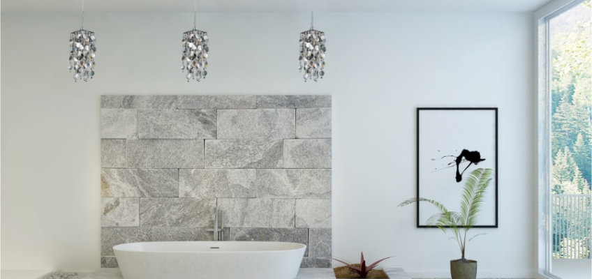 Choosing the Best Lighting Fixtures for your Stay-at-Home Spa Bathroom