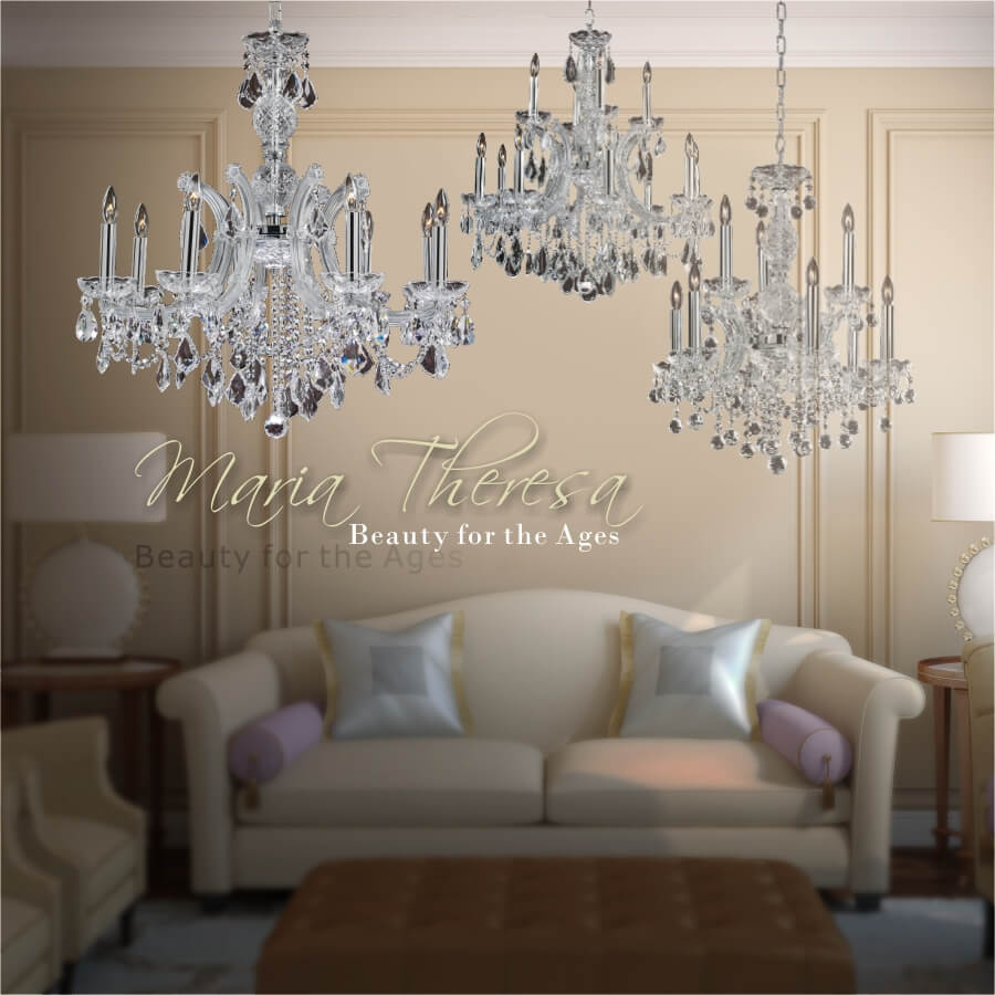 Maria Theresa banner by GLOW Lighting