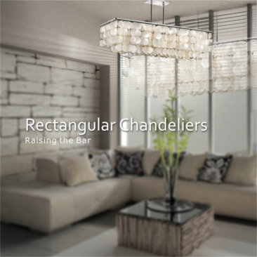 Rectangular Chandeliers
