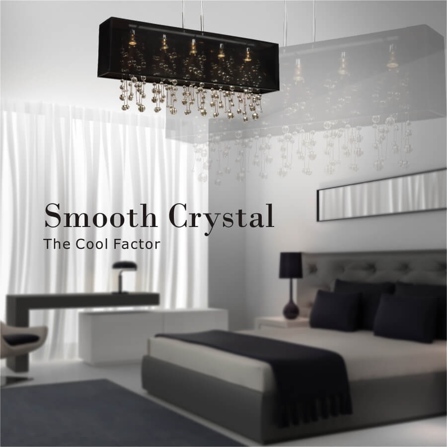 Omni smooth crystal banner by GLOW Lighting