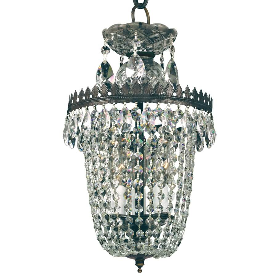 3 Light Mini Chandelier | Balmoral 553 by GLOW® Lighting