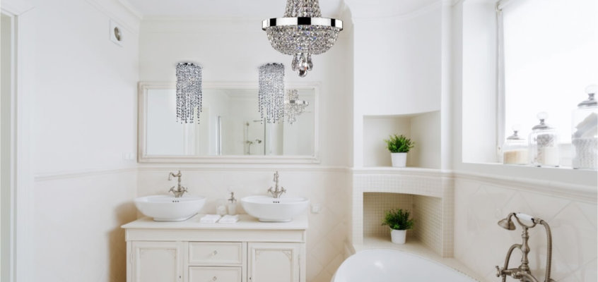 Small Spaces Big Ideas – Small Chandeliers