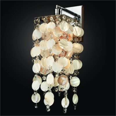 Oyster Shell Wall Sconce | Cityscape 598S