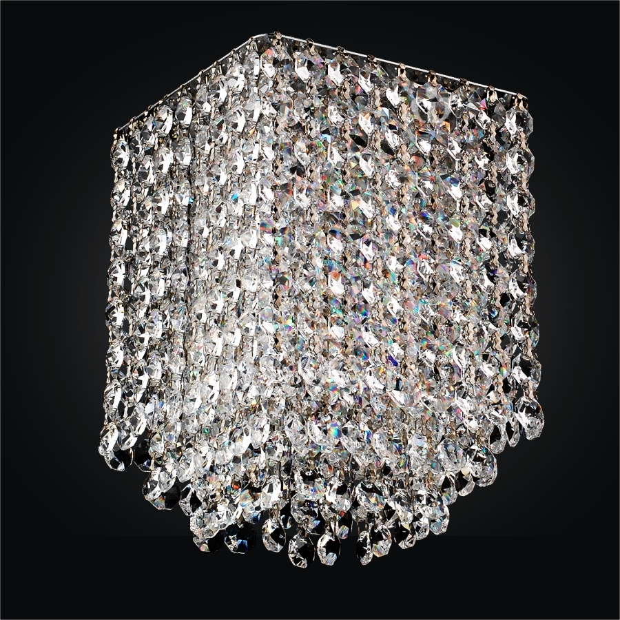 Create Your Own 5 Light Linear Crystal Pendant Chandelier – Design Your Own Chandelier