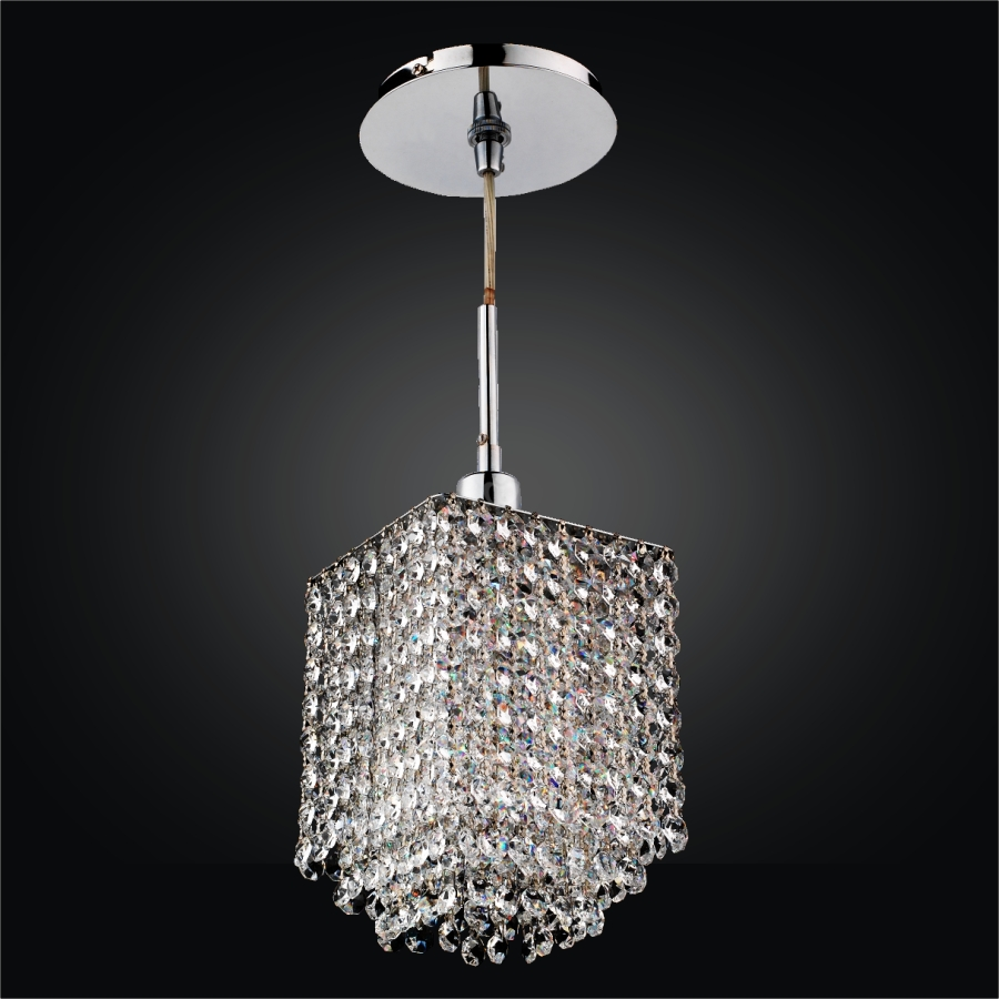 Crystal Mini Pendant Light | Fuzion X 700 by GLOW® Lighting
