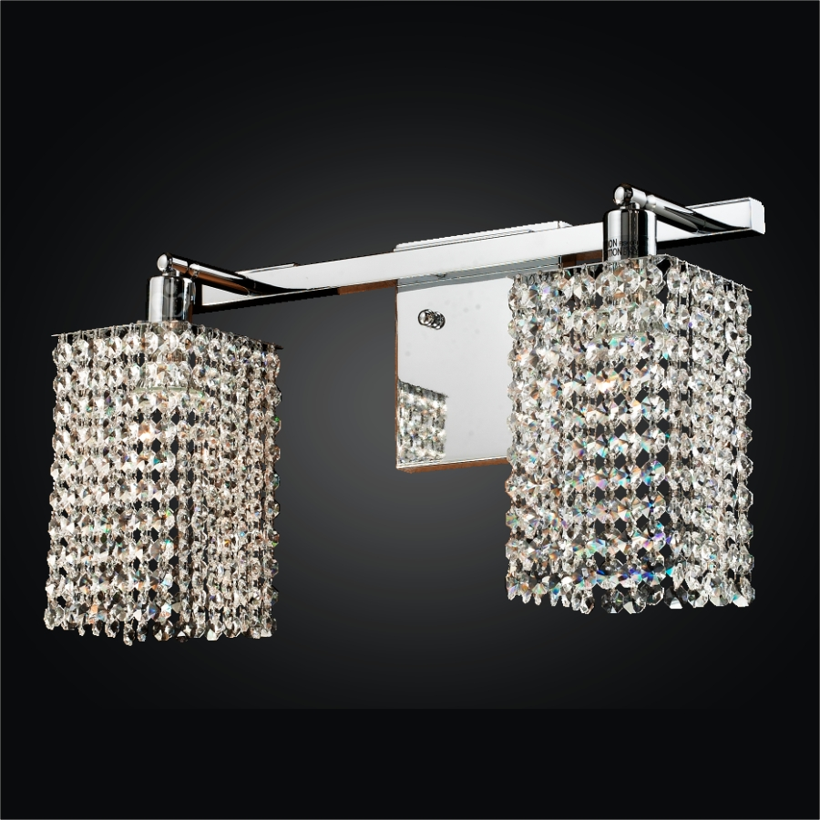 2 Light Wall Sconce | Fuzion X 700 by GLOW® Lighting