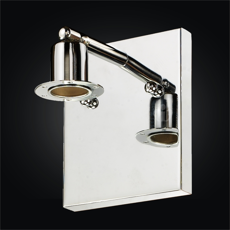 Chrome Wall Sconce | Fuzion X 700 by GLOW Lighting