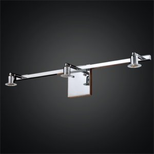 3 Light Vanity Light Bar | Fuzion X 700 by GLOW Lighting