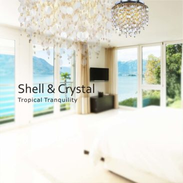 Shell & Crystal Chandeliers
