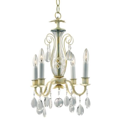 Crystal Mini Chandelier | Country Chic 556H