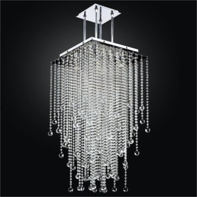 Long Bubble Chandelier – Square Chandelier | Cityscape 598B