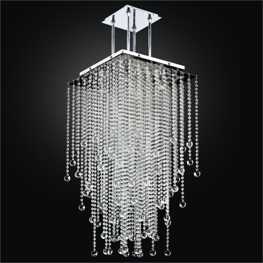 Beaded Pendant Chandelier | Cityscape 598BD18-37SP-7