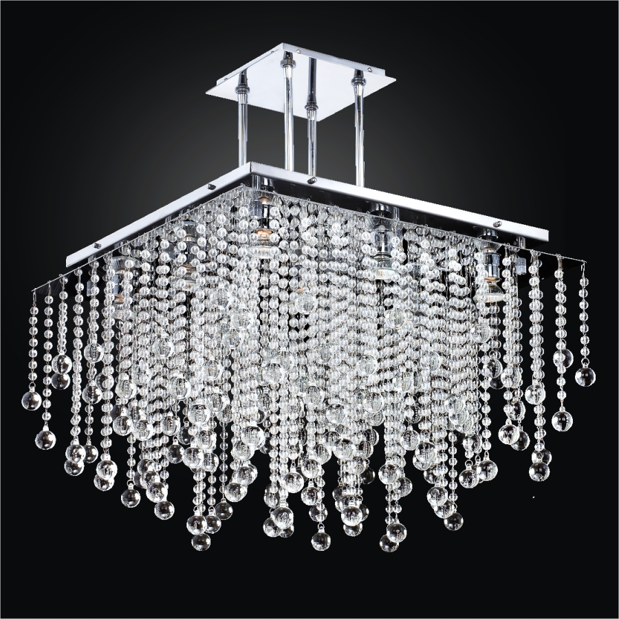 Beaded Chandelier | Cityscape 598BD24-17SP-7