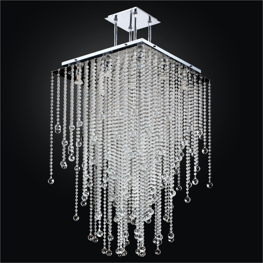 Beaded Pendant Chandelier | Cityscape 598BD24-37SP-7