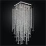 Square Ceiling Light – Bubble Ceiling Light | Cityscape 598B by GLOW® Lighting;