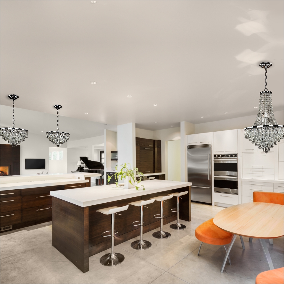 Empire Basket Chandeliers Kitchen
