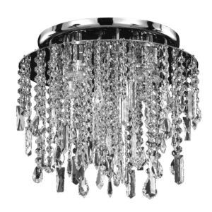 Crystal Drop Light – Long Crystal Ceiling Light | Divine Ice 577MC4LSP-9C_white