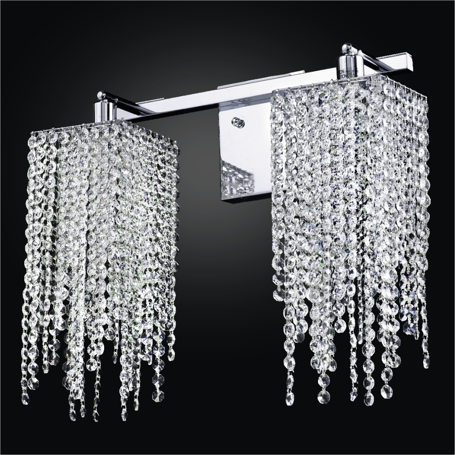 Crystal Wall Lights | Cityscape 598A by GLOW® Lighting