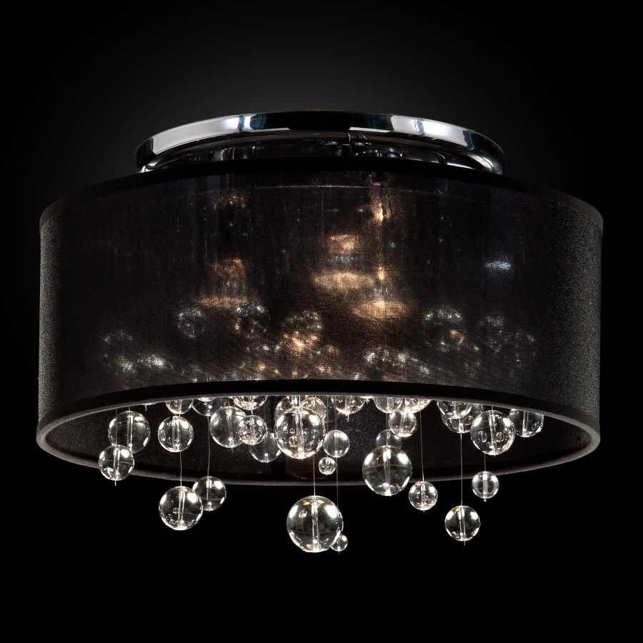 Bubble Light Fixture | Silhouette 590BC15-10SP-B-7C