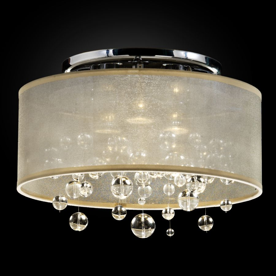 Bubble Light Fixture | Silhouette 590BC15-10SP-T-7C