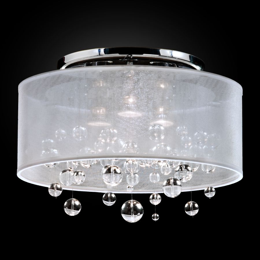 Bubble Light Fixture | Silhouette 590BC15-10SP-W-7C
