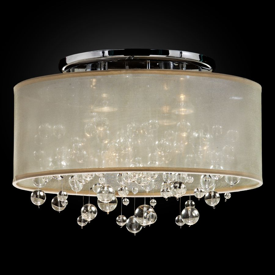 Bubble Light Fixture | Silhouette 590BC18-11SP-T-7C