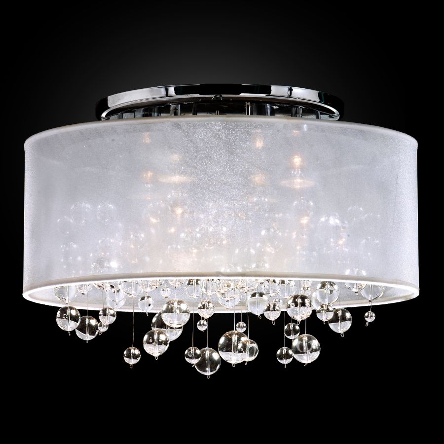 Bubble Light Fixture Silhouette 590bc18 11sp W 7c